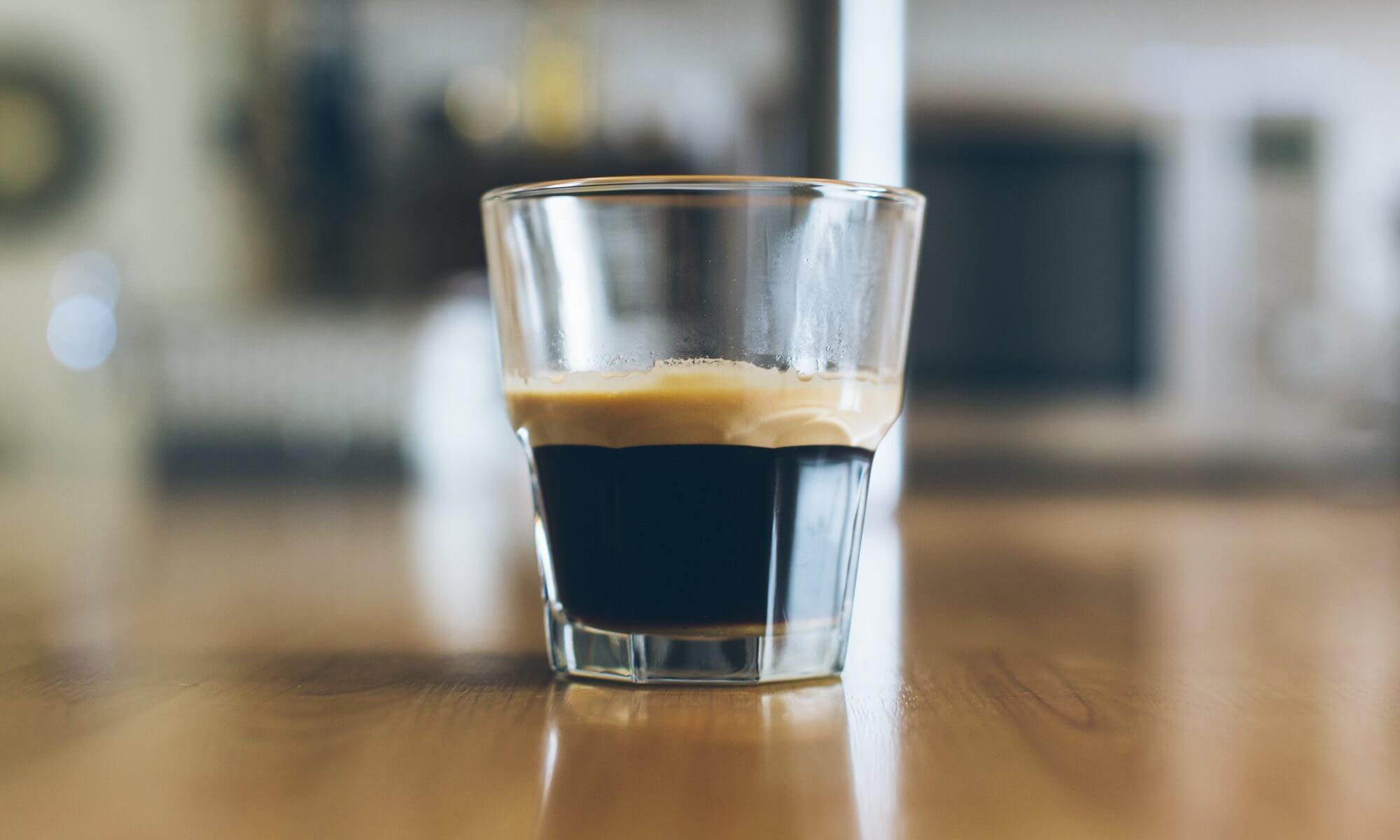 stock photo of expresso shot