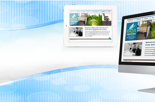 header image with computer monitor and iPad showing a website