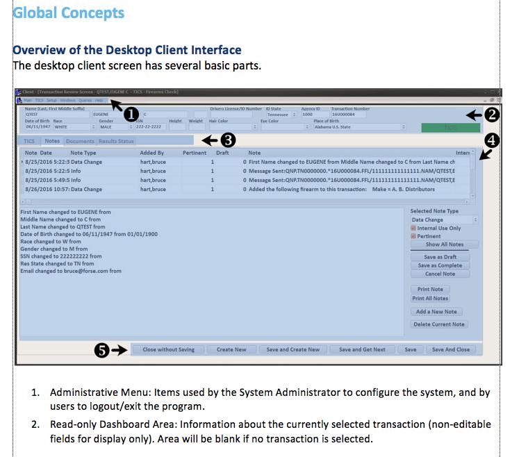 instruction manual screen shot